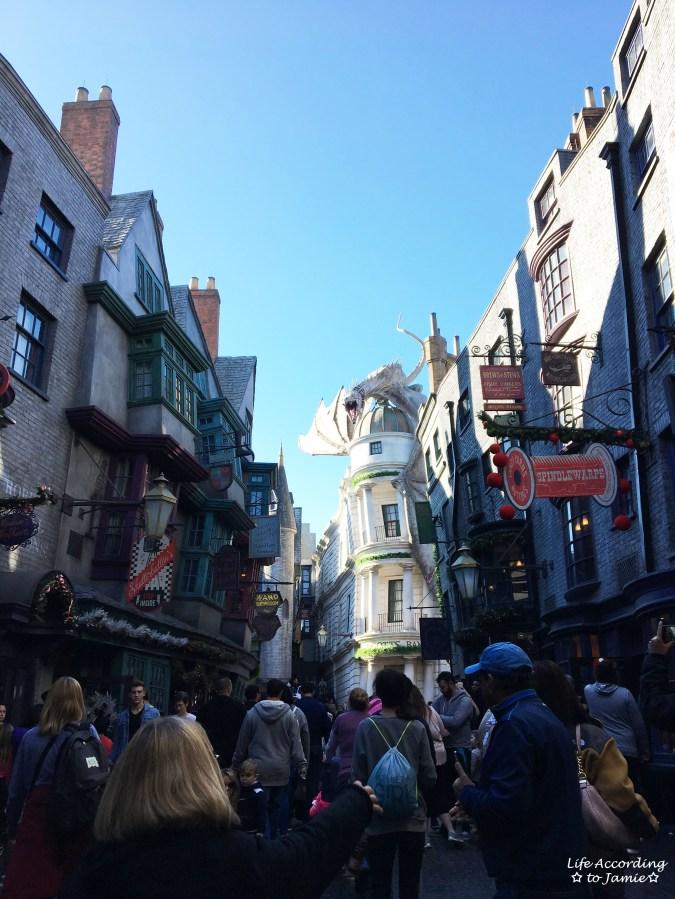 Universal Studios Orlando - Wizarding World of Harry Potter - Diagon Alley 7