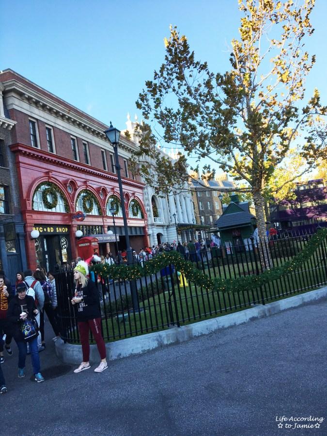 Universal Studios Orlando - Wizarding World of Harry Potter - London Facade 2