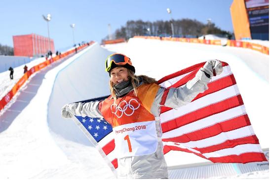 Chloe Kim - gold medal