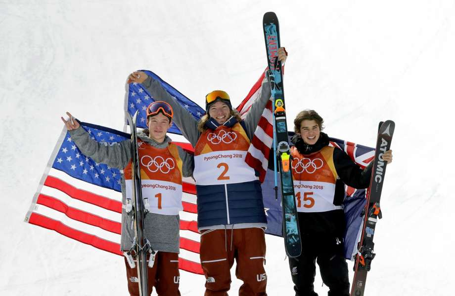 David Wise gold medal