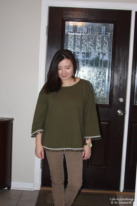 Green Pompom Fringe 8