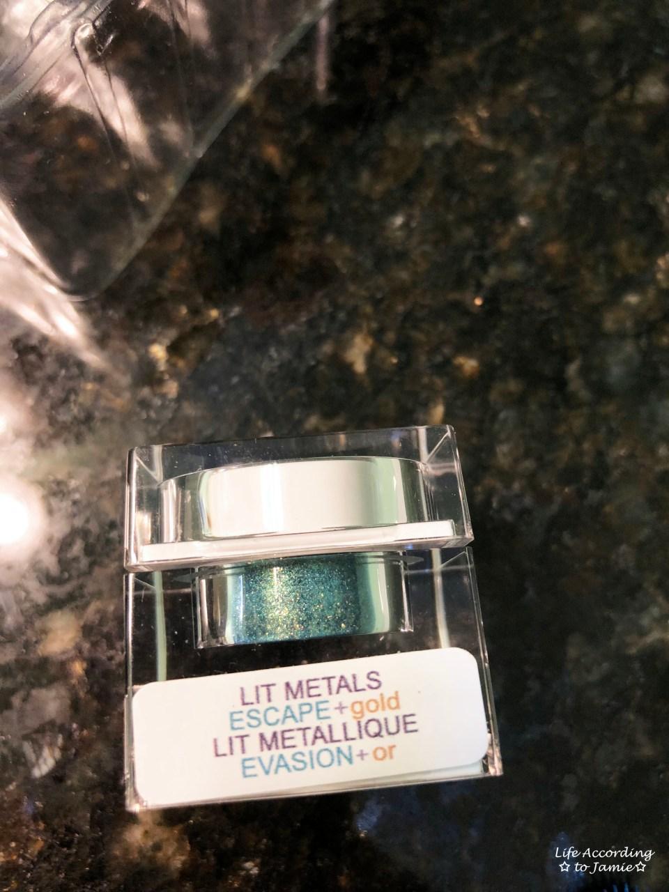 Lit Cosmetics - Escape + Gold