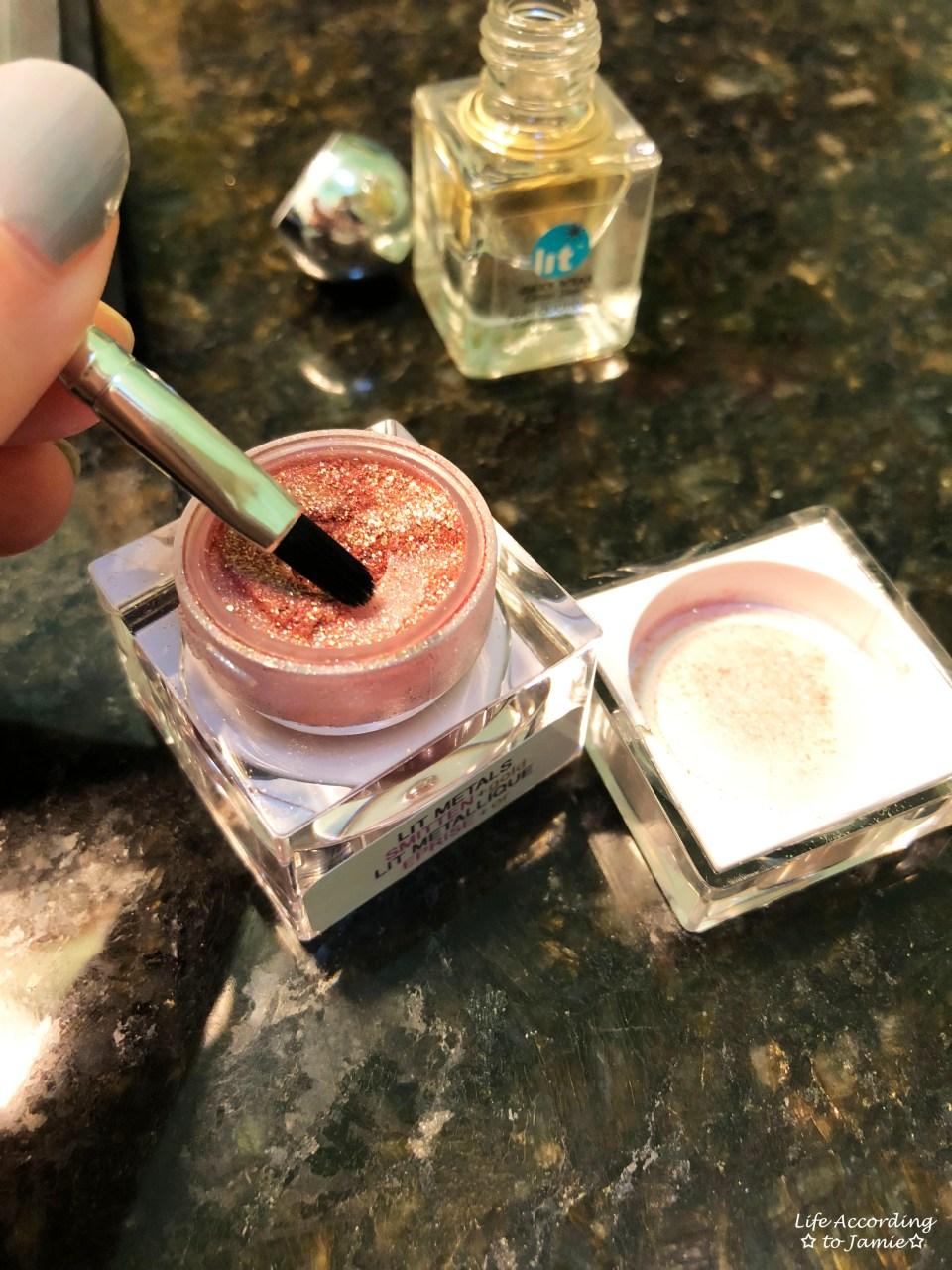 Lit Cosmetics - Smitten + Gold 2