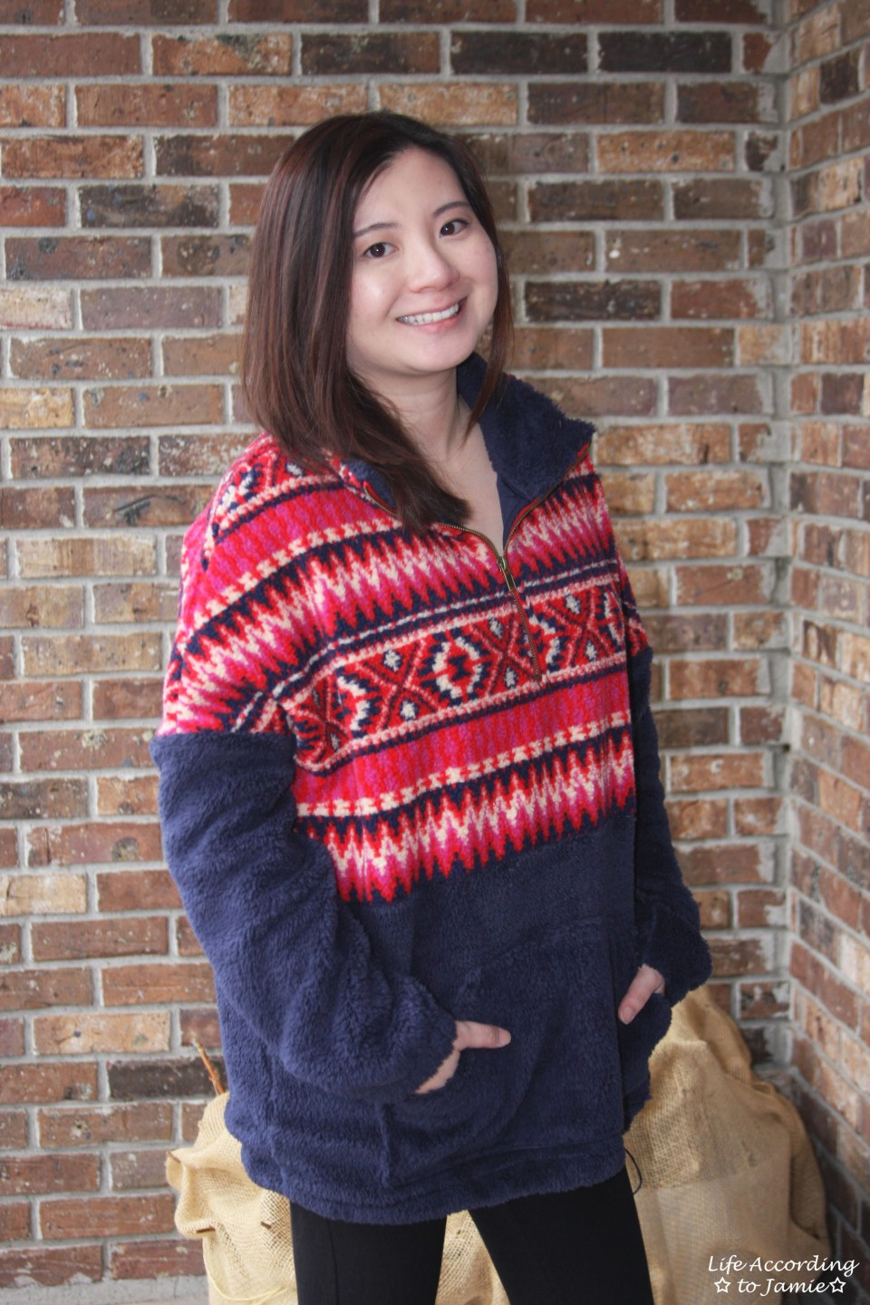 Navy & Red Pullover 12
