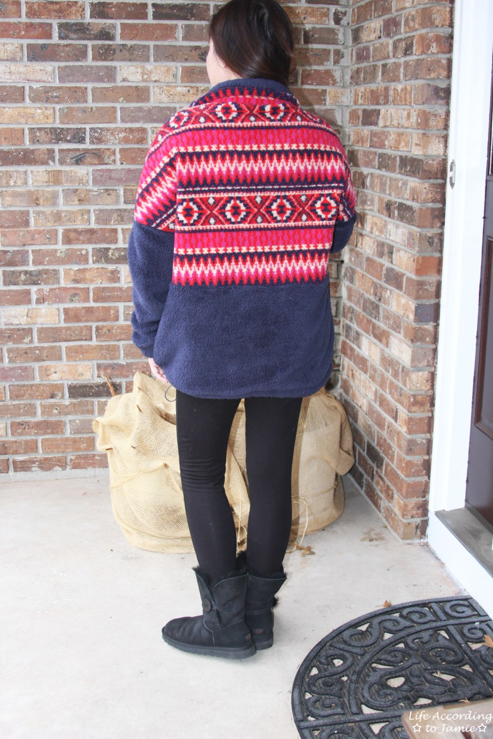 Navy & Red Pullover 4