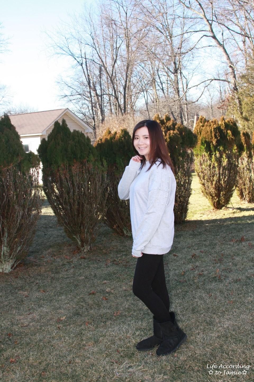 Pearl Embellished Sweatshirt 6