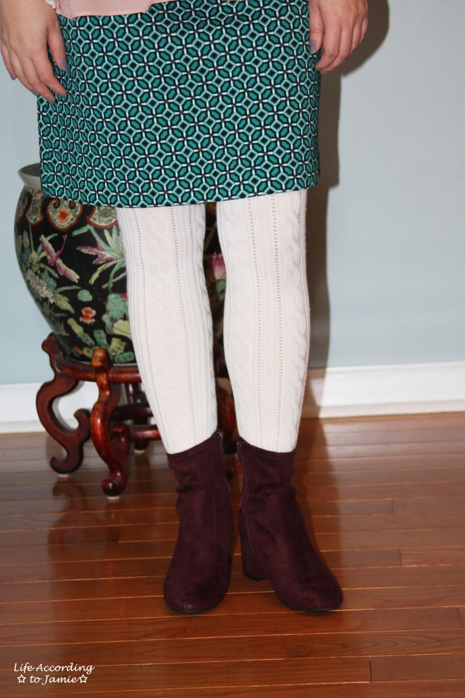 Tiled Jacquard Skirt 10