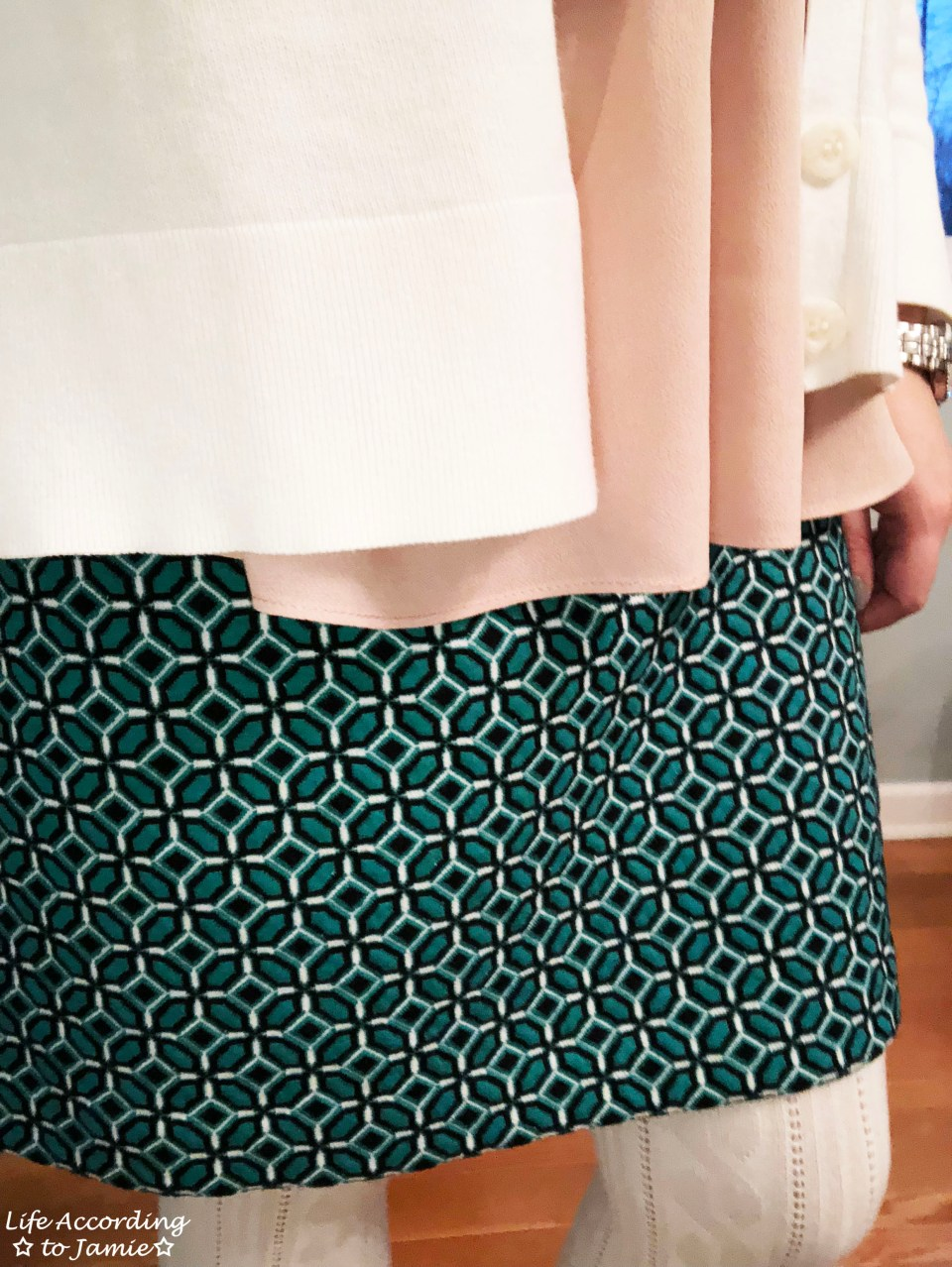Tiled Jacquard Skirt 2