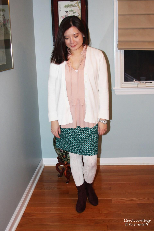 Tiled Jacquard Skirt 9