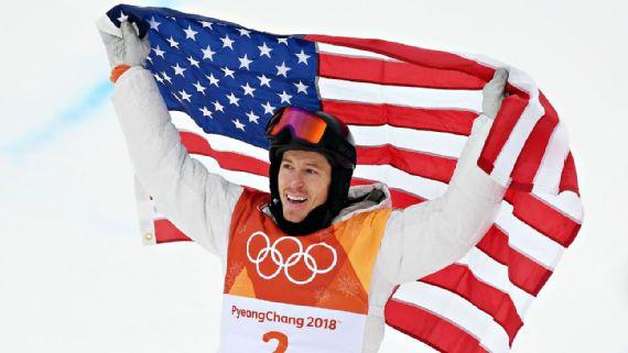 shaun white gold medal