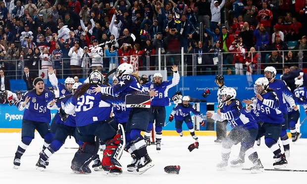 women's hockey gold