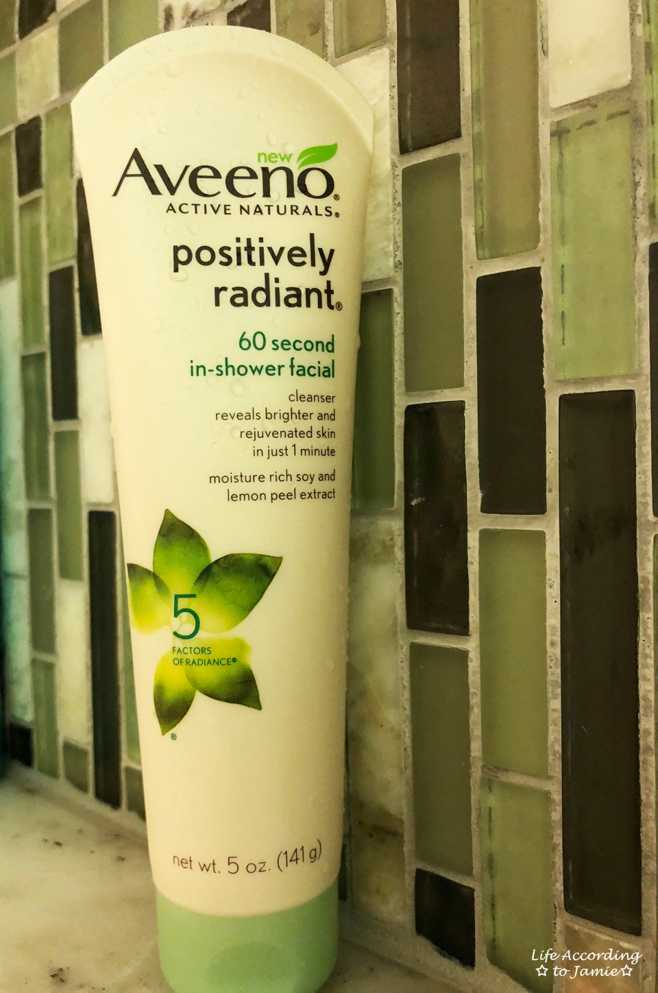 Aveeno 60 Second In-Shower Facial 1