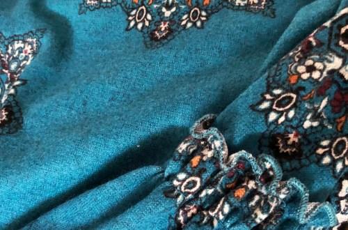 Bell Sleeve Fleece Dress
