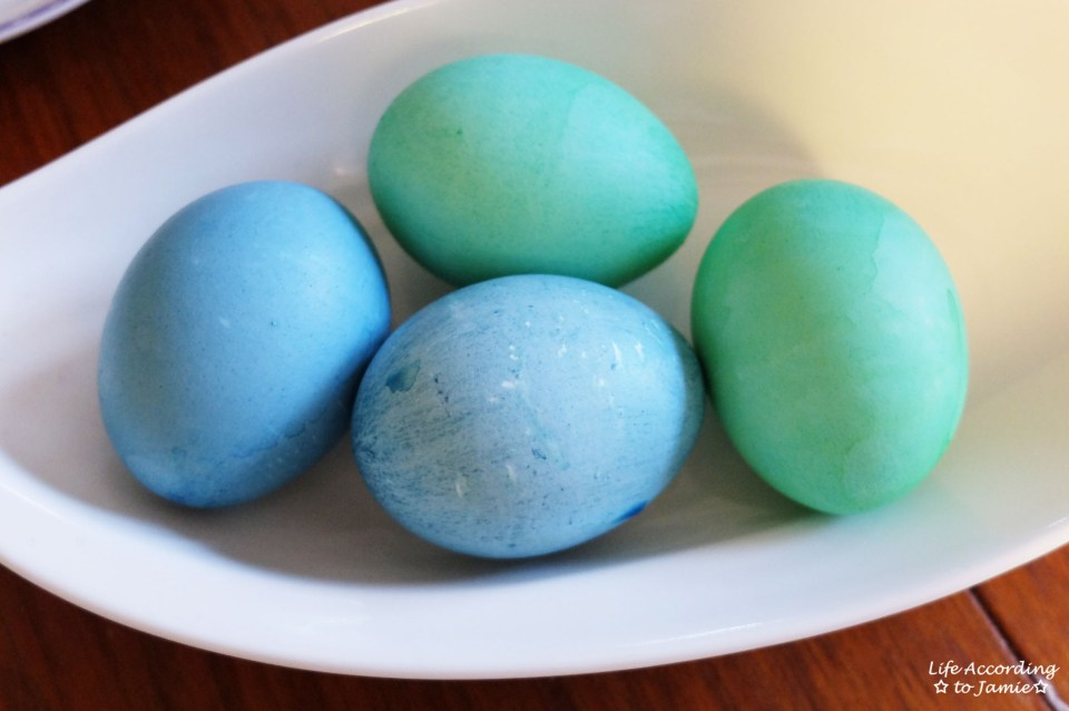Blue & Green Easter Eggs 1