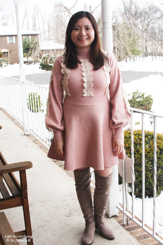 Crochet A-Line Dress 13