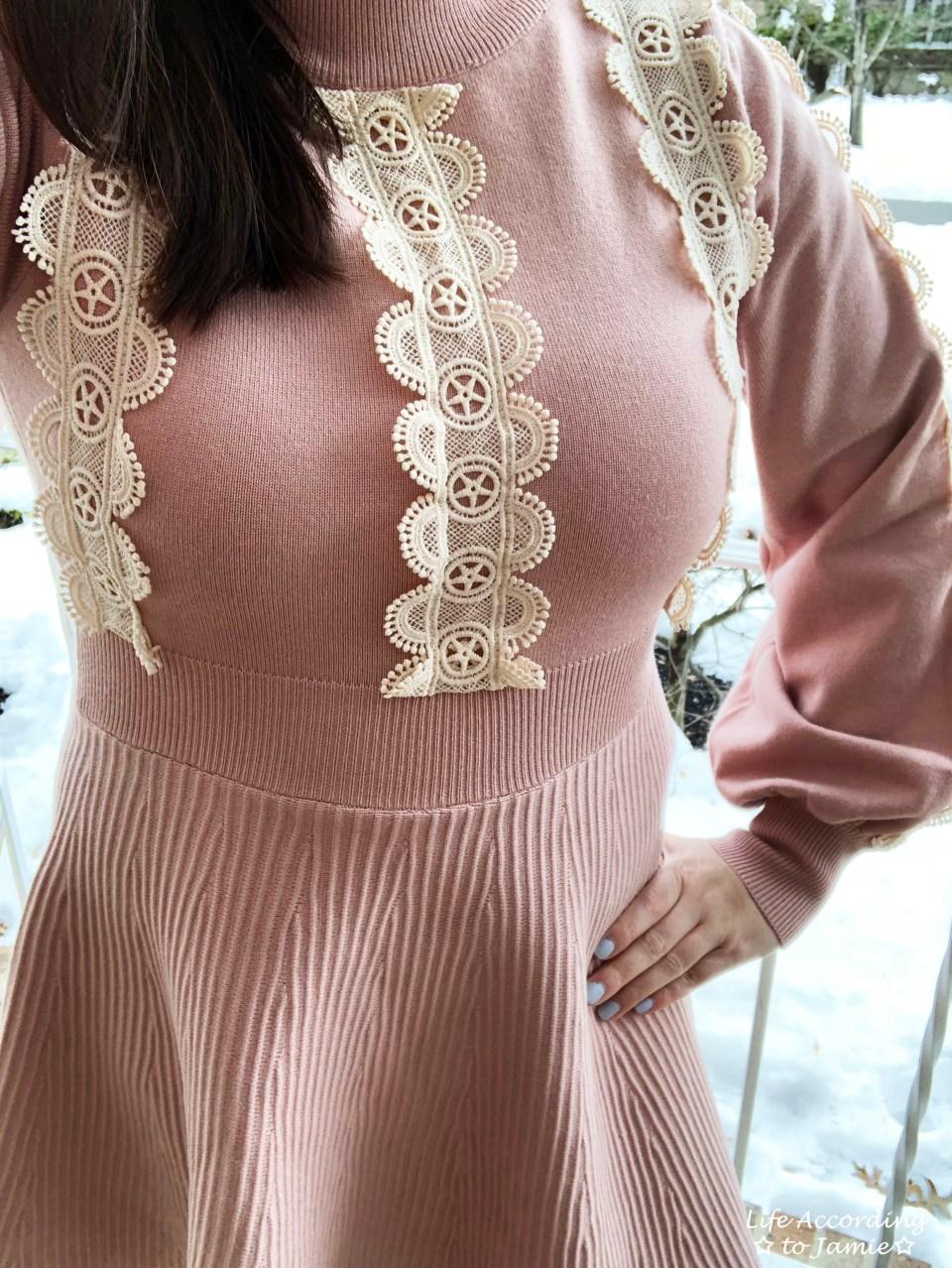 Crochet A-Line Dress 4