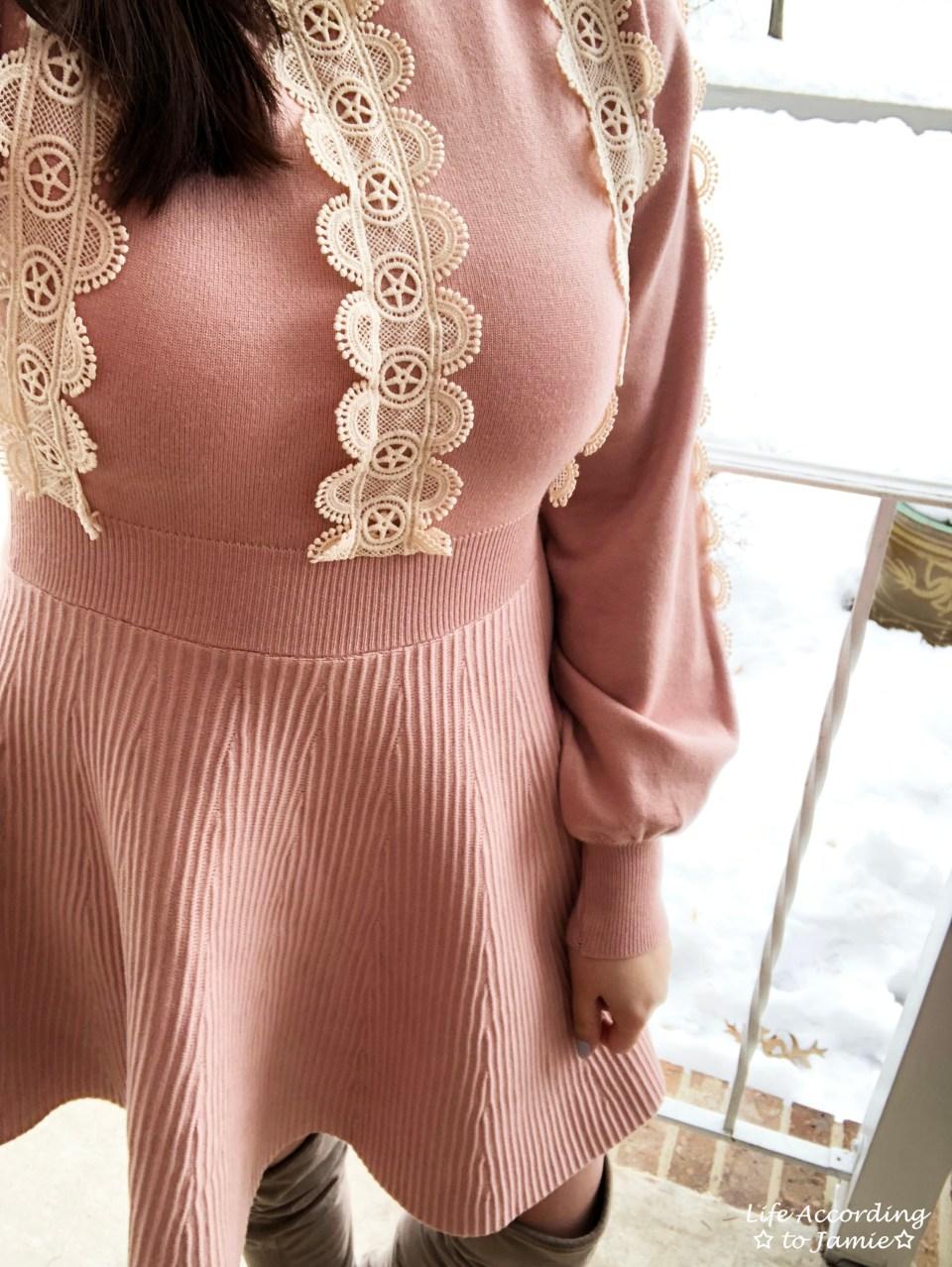 Crochet A-Line Dress 5