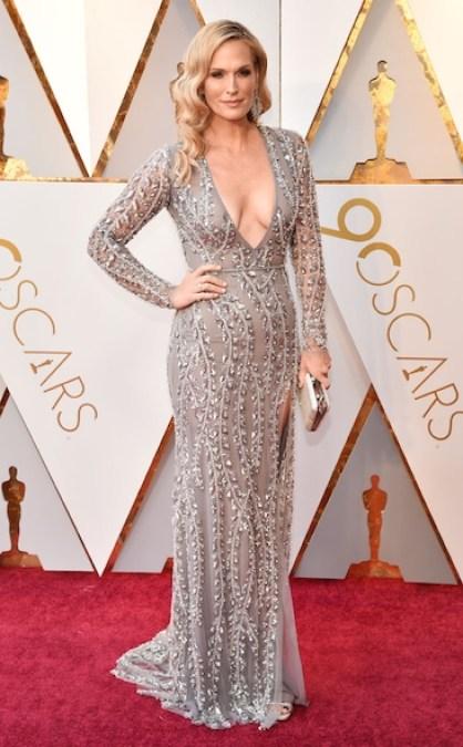 Molly Sims - Oscars 2018