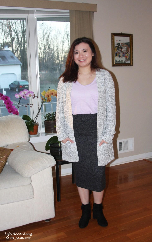 Plush Jersey Pencil Skirt 11
