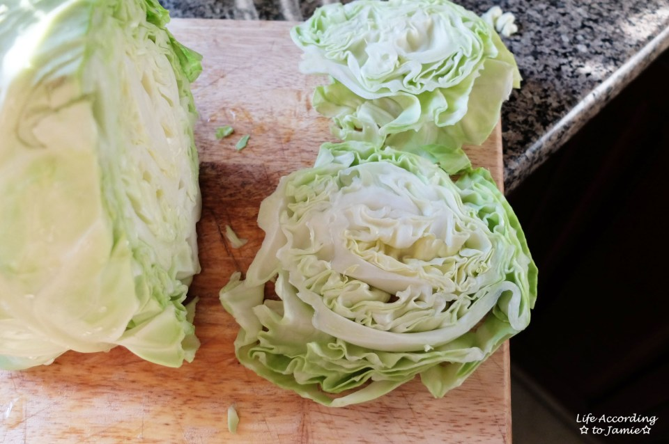 Sliced Cabbage