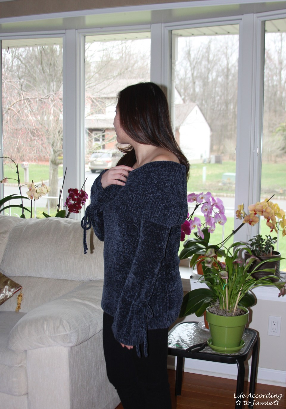 Chenille Off the Shoulder 6