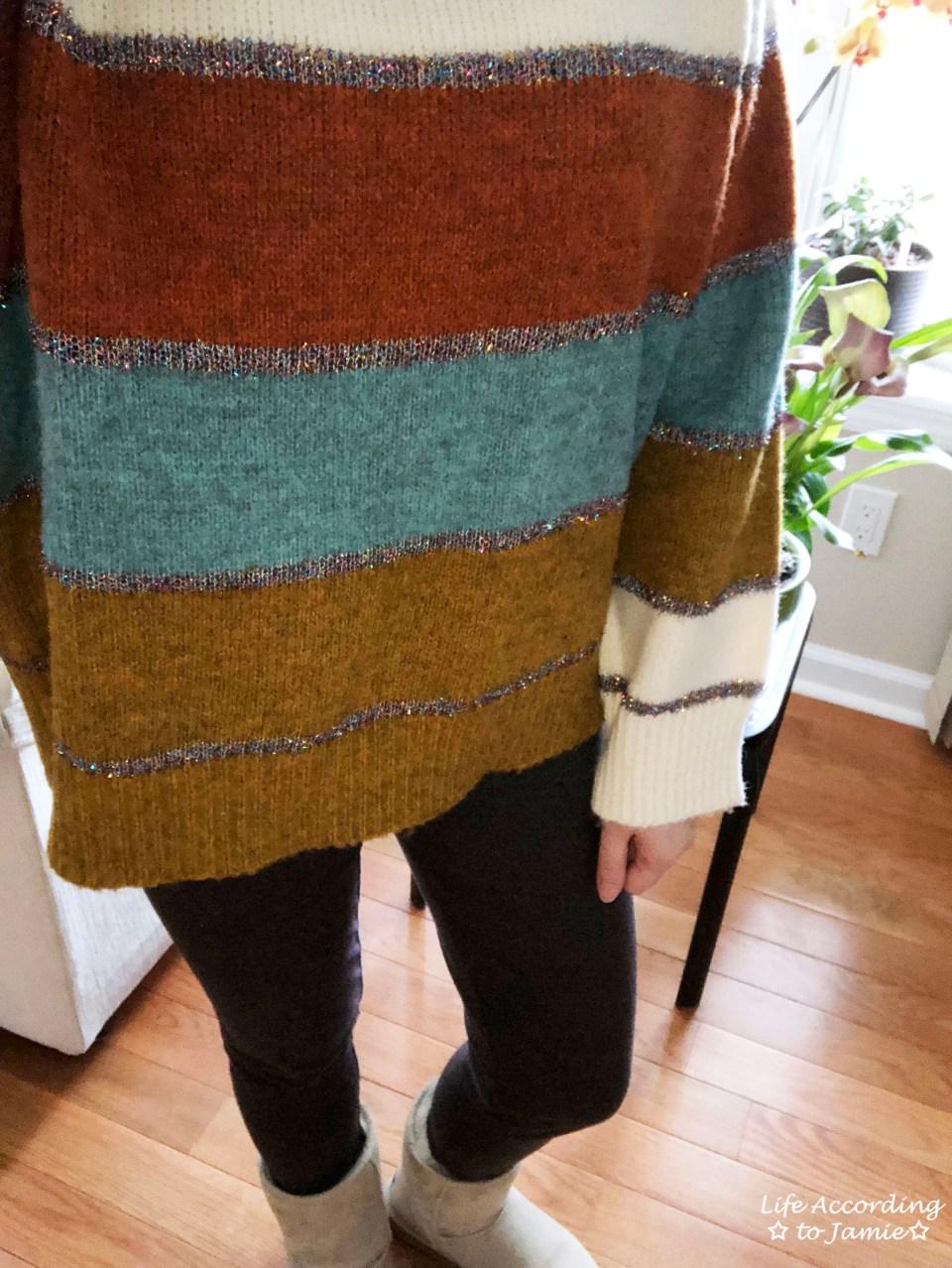 Color Block Tinsel Stripe 1