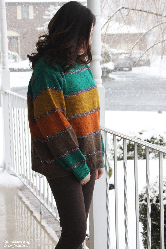 Color Block Tinsel Stripe 12