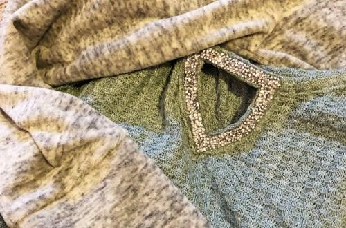 Embellished Keyhole Top