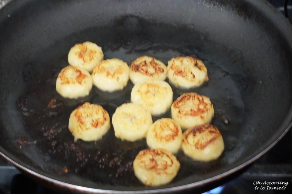 Fried Honey Bananas 2