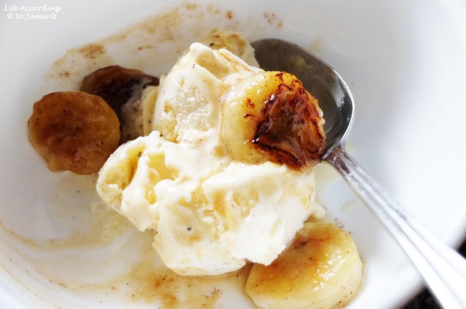 Fried Honey Bananas 6