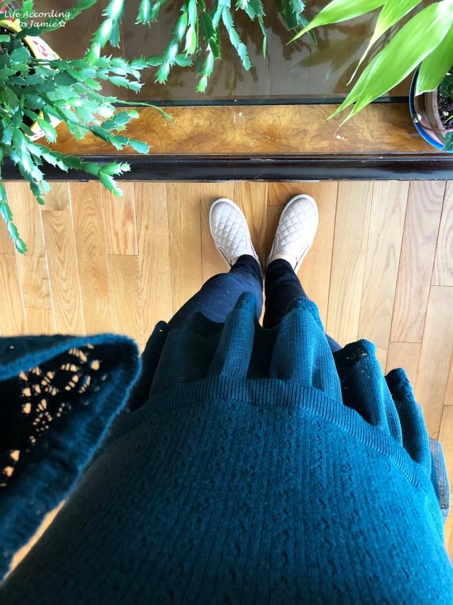 Pointelle Babydoll Sweater 2