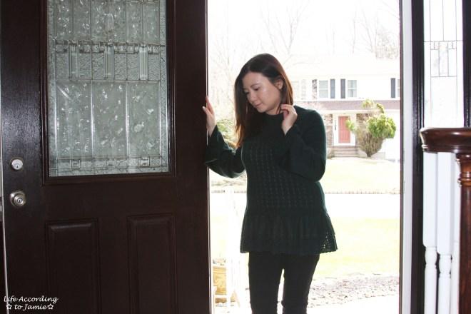 Pointelle Babydoll Sweater 7