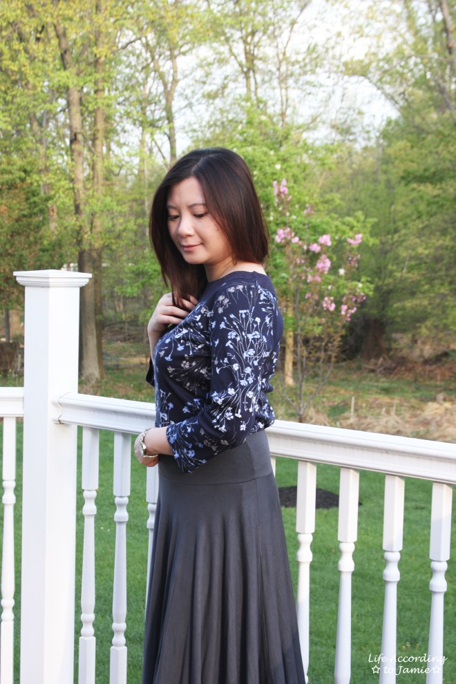 Crochet Topped Floral Top 11