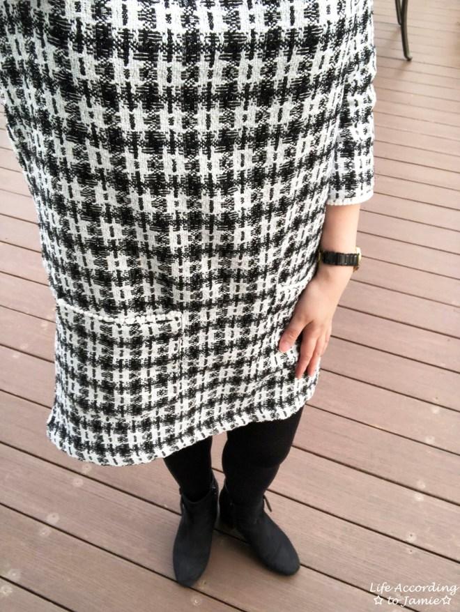 Houndstooth Dress 1