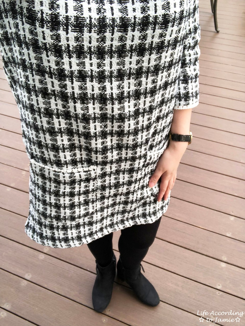 Houndstooth Dress 1