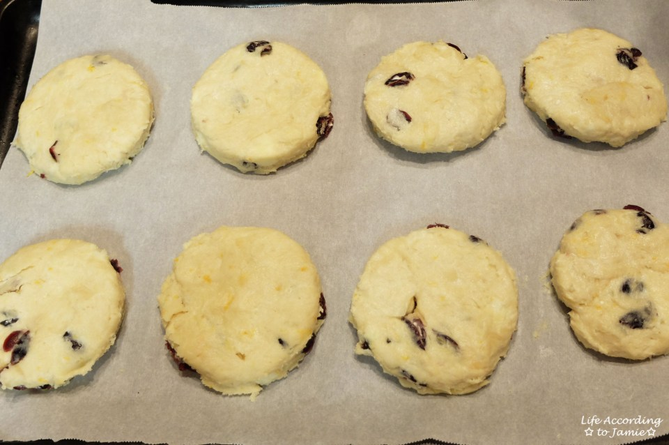 Orange Cranberry Scone 1