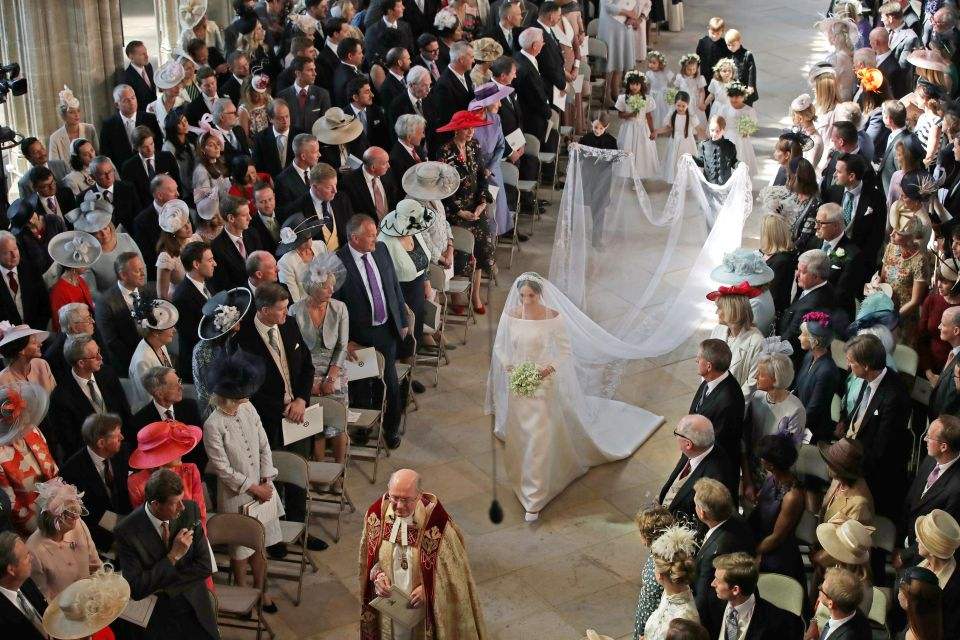 The wedding of Prince Harry and Meghan Markle, Ceremony, St George's Chapel, Windsor Castle, Berkshire, UK - 19 May 2018