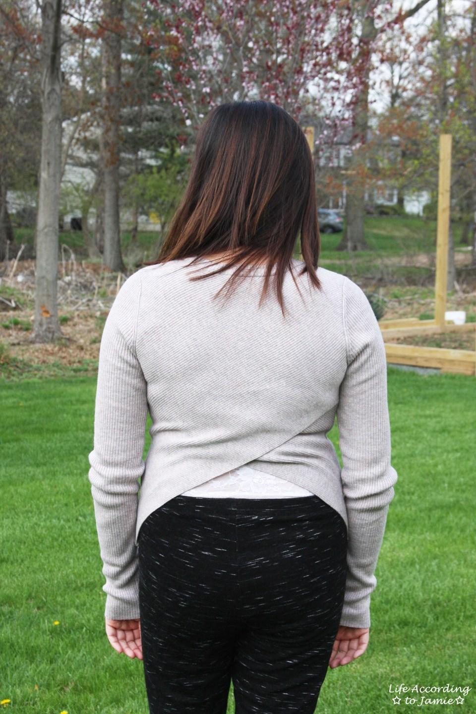 Tulip Back Sweater 4