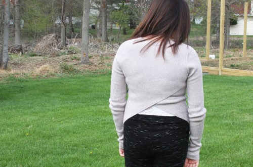 Tulip Back Sweater