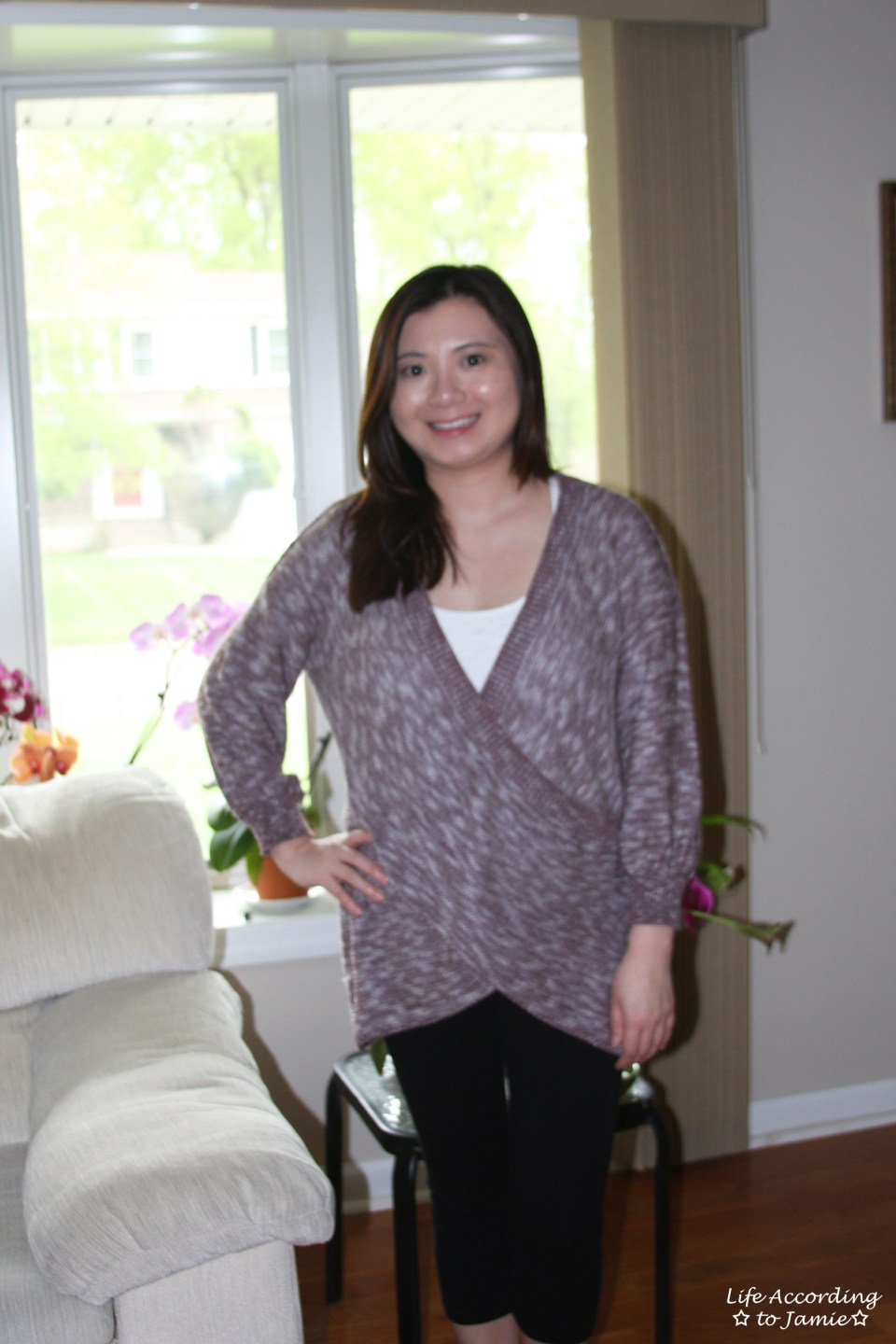 Wrap Front Sweater 5