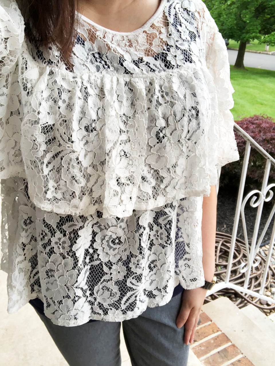 Lace Tiered Ruffles 11