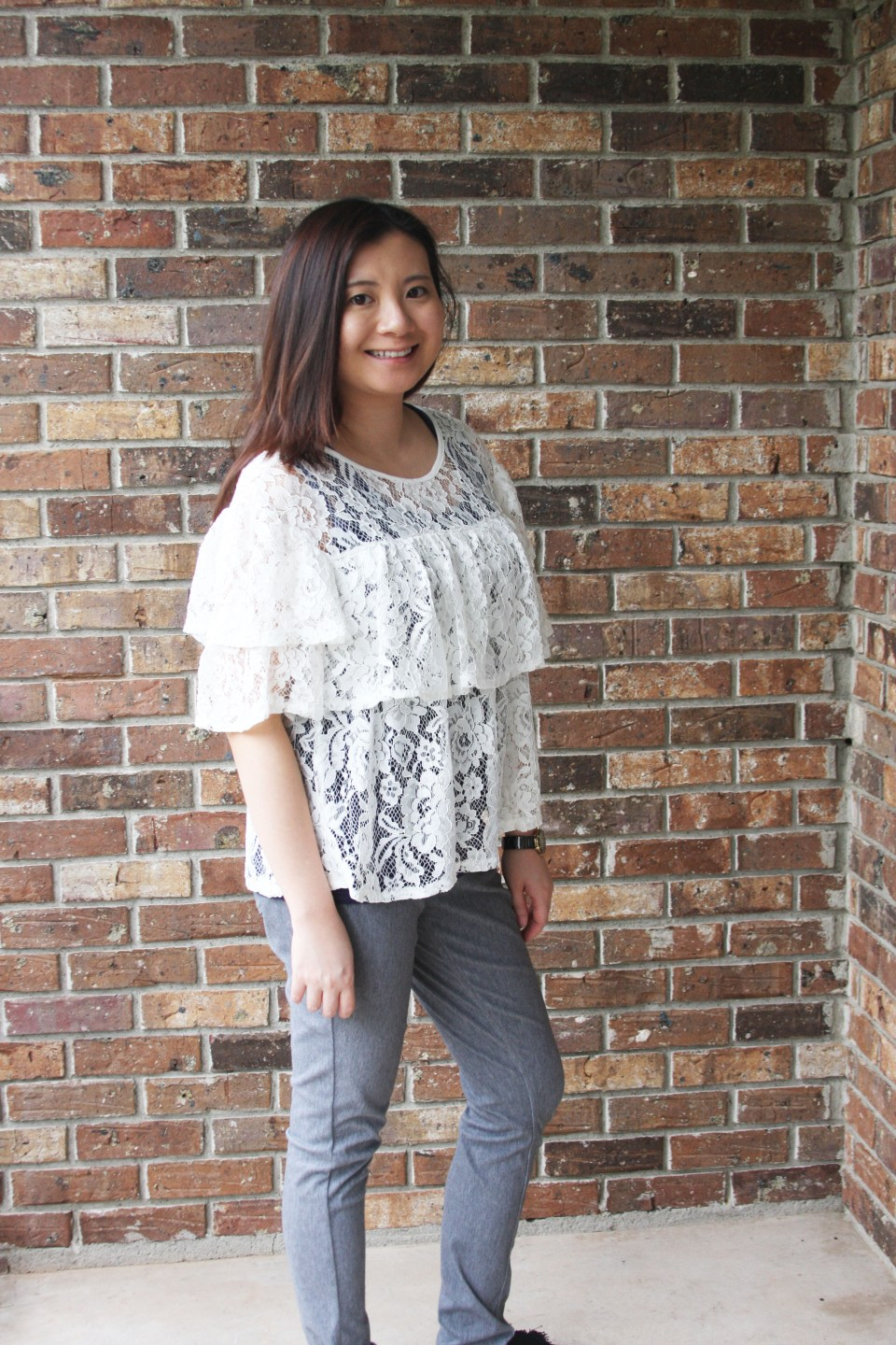Lace Tiered Ruffles 4