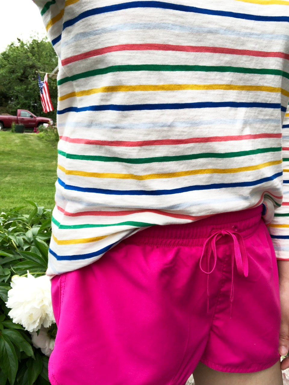 Multicolored Striped Top 1