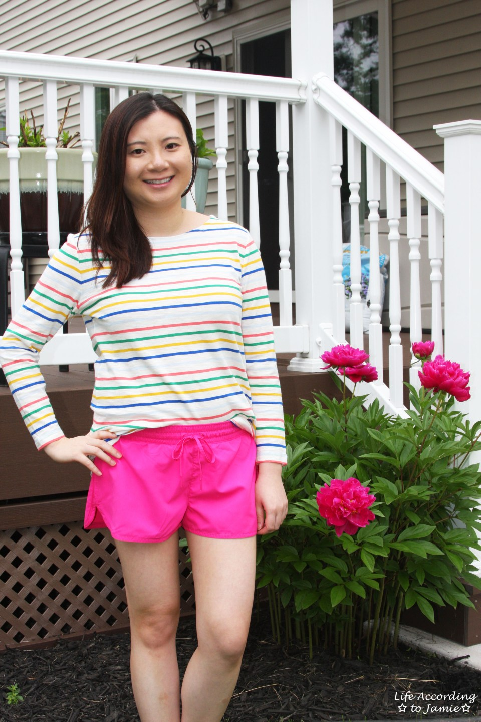 Multicolored Striped Top 10