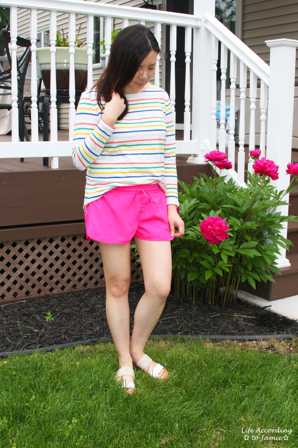 Multicolored Striped Top 12