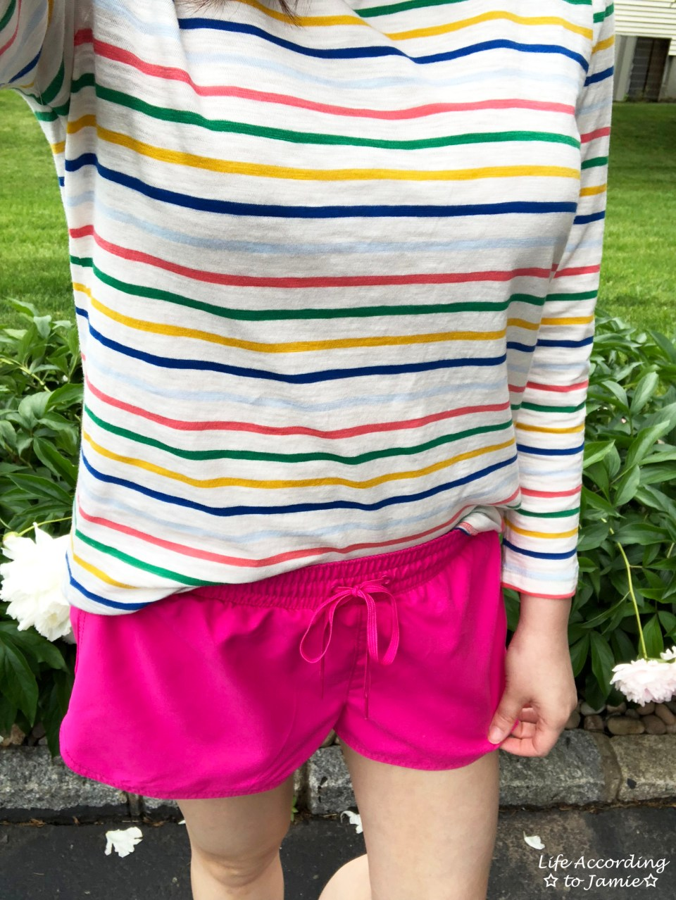 Multicolored Striped Top 2