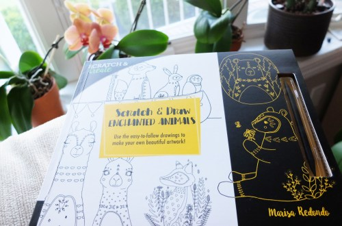 Scratch & Draw Book