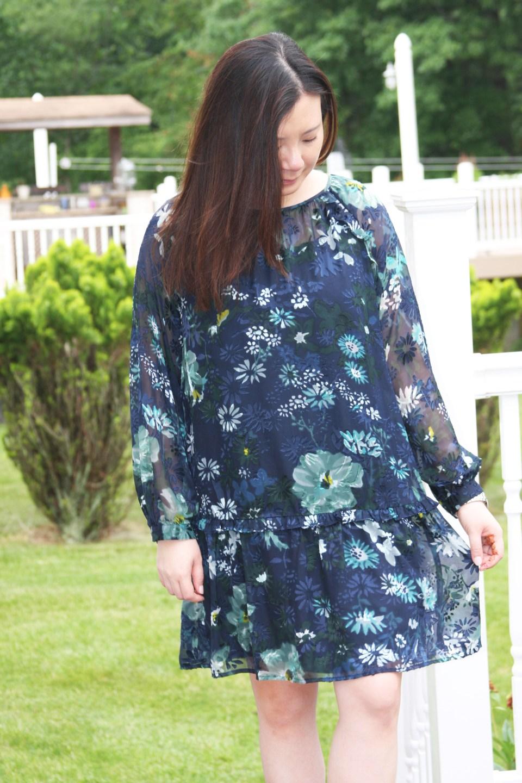 Winter Garden Flounce Dress 3
