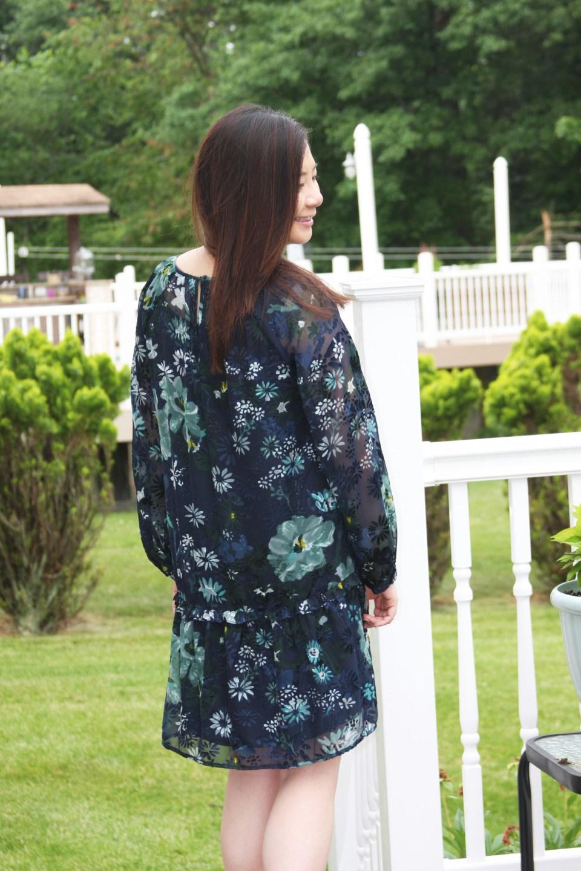 Winter Garden Flounce Dress 4