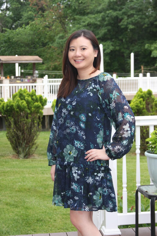 Winter Garden Flounce Dress 8